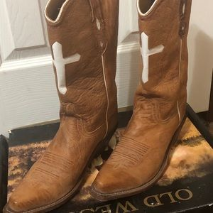 Old West Cowgirl Boots